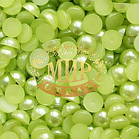 Полужемчуг 4мм    Цвет Lt Green (100шт)