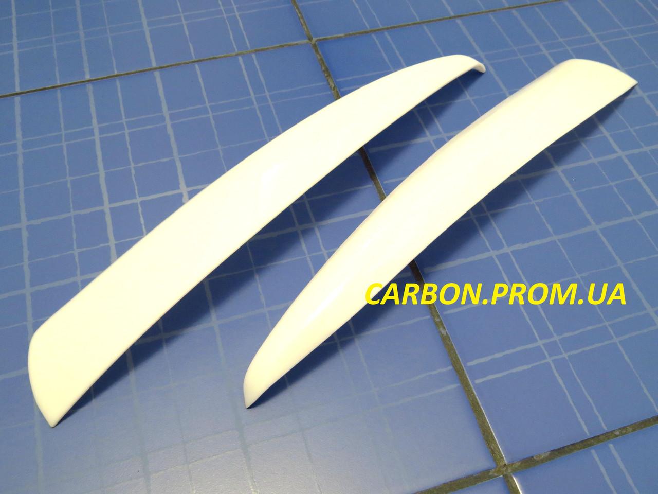 Вії ANV Air ВАЗ 1118 Калина прямі білі тюнінгові накладки на автомобільні фари Kalina