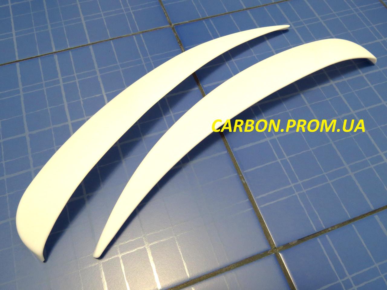Вії ANV Air Газель білі тюнінгові накладки на автомобільні фари Gazel