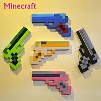 Пистолет Minecraft