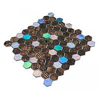 Бронзовая мозаика для кухни Vivacer SB01