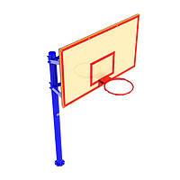 Стенд баскетбольный FIBA (180х105), щит фанера влагостойкая