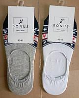 Мужские хлопковые носки-подследники ТМ Bonus