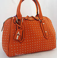 Женская оранжевая сумка   Velina Fabbiano