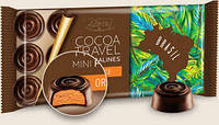 Черный шоколад Baron excellent cocoa travel mini pralines orange 0,100 гр.