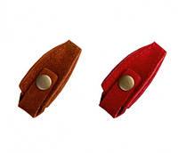 Чехол для профессиональных кусачек (кожа) на кнопке
