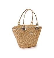 Женская сумка Корзина соломяная