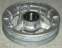 Шкив натяжной измельчителя барабана РСМ-10.14.00.150В ДОН-1500 (2-х руч. D=250 мм) алюминиевый