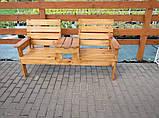 Скамейка садовая Перша, фото 2