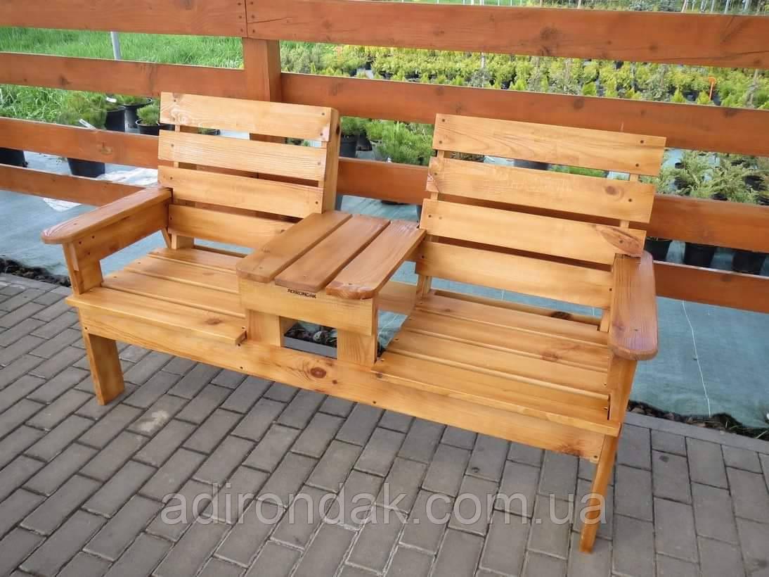 Скамейка садовая для отдыха Перша