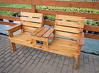 Скамейка садовая для отдыха Перша, фото 1