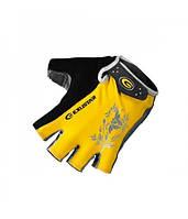 Перчатки женские EXUSTAR CG430-YL желтые S