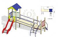 Детский игровой комплекс КМ 1-2