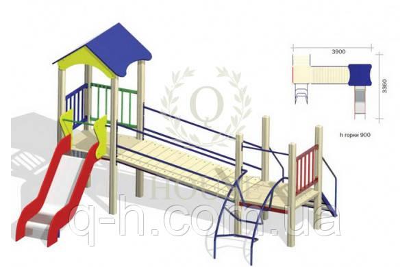 Детский игровой комплекс км 1-2, фото 2