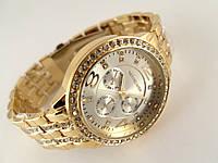 Часы женские Michael Kors gold - серебристый циферблат в золотистом корпусе