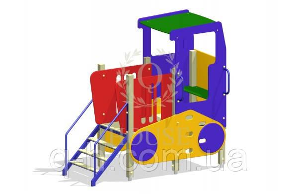 Комплекс игровой трактор