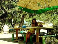Палаточный городок в бухте Ласпи, фото 1