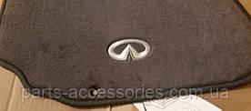 Infiniti G35 2004 коврики велюровые темно-серые передние задние новые оригинал