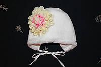 Зимняя шапка для новорожденного