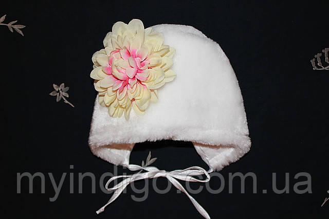 Зимова шапка для новонародженого