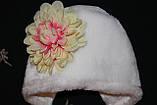 Зимова шапка для новонародженого, фото 2