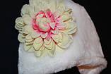 Зимова шапка для новонародженого, фото 4