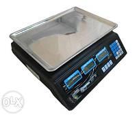 Электронные весы Wimpex ACS 50 кг, электронные весы 50кг, торговые весы, электронные весы, напольные весы, фото 1