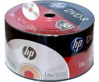 DVD-R диски для видео Hewlett-Packard Shrink 50