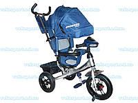 Детский трехколесный велосипед Crosser One с надувными колесами
