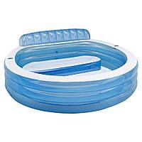 """Дитячий надувний басейн Intex """"Сімейний"""" круглий, фото 1"""