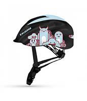 Шлем детский EXUSTAR BHM503K размер 52-57см BK/BL