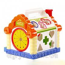 Теремок - игрушка развивающая сортер , фото 3
