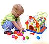 Теремок - игрушка развивающая сортер, фото 4