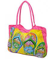 Пляжная сумка с картинкой вьетнамок