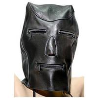 Закрыта кожаная маска Spade
