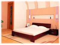 Кровать из натурального дерева «Титан»