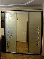 Шкаф-купе «BRAUN» с рисунком, фото 1
