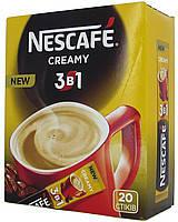 """Кофейная смесь Nescafe 3в1 """"Creamy"""" 20 шт."""