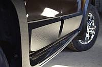 Молдинги накладки на двери Renault Duster 2010+ Рено Дастер