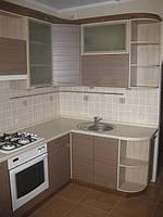 Кухня с пленочным фасадом на заказ в Житомире