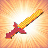 Меч Minecraft 80см