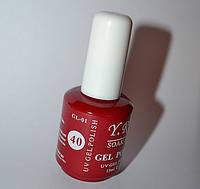 Гель-лак для ногтей YRE - цветное покрытие № 40, Коллекция 2013 15 мл  52-23 /