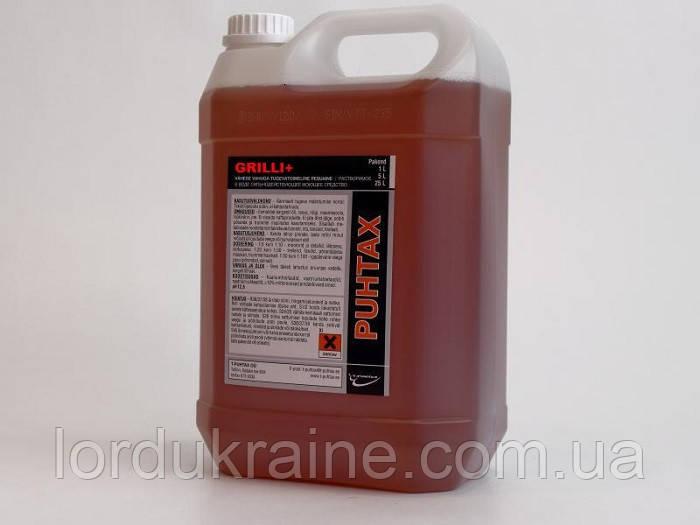 Средство для чистки грилей и духовых шкафов GRILLI+ (концентрат), 1 литр