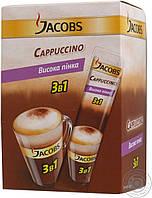 """Кофейный напиток Jacobs 3в1 """"Cappuccino"""" 24 шт."""