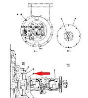 Муфта соединения гидронасоса KSJ2664 для  Case CX330