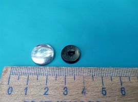 Пуговица для обтягивания тканью № 24 ( в упаковке 100 штук )