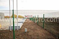 Забор для стоянок грузовых авто