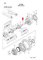 Приводной вал гидромотора 2042351 для Hitachi ZX200