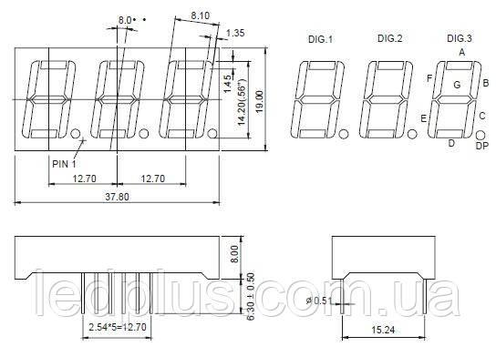Индикатор GNT-5631AG-21