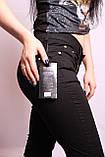 Женские черные летние капри больших размеров (с 30 по 38 размеры) , фото 5